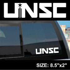 "Halo "" Halo 4 UNSC Logo "" Sticker Decal- Bungie, 343 Industries, Xbox, Xbox One"