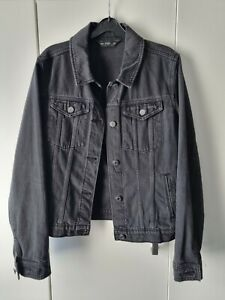 F&F Black Denim Jacket Size 10. Only worn a couple of times