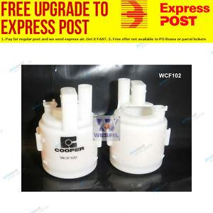 Wesfil Fuel Filter WCF102 fits Nissan X-Trail 2.5 4x4 (T31)