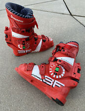 New listing vintage 90s DYNAFIT 3F Comp S Red Downhill Ski Boots Mondo 28.5 314mm ISO 5355