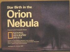 1995 National Geographic Supplement Star Birth in the Orion Nebula