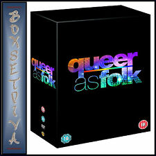 QUEER AS FOLK USA- COMPLETE SEASONS 1 2 3 4 & 5 - **BRAND NEW DVD BOXSET**