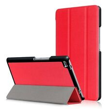 Slim Smart PU Leather Case Cover for Lenovo Tab 4 HD 8 Inch 16GB Tablet