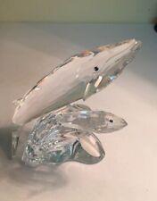 Swarovski Crystal Whales No Box