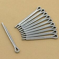Stainless Steel Split Cotter Pins Hardware Fasteners Parts 10-100Pcs
