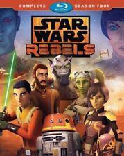 STAR WARS REBELS - SEASON 4  -  Blu Ray - Sealed Region free