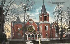 B58/ Spartanburg South Carolina Sc Postcard c1910 First Presbyterian Church