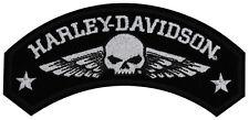 "HARLEY-Davidson Toppa/Emblema ""Military Wing"" Skull * EM 044753 *"