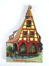 Rothenburg 3 D Holz Souvenir Deluxe Magnet,Germany Deutschland,Neu