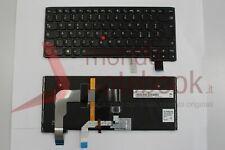 Tastiera Notebook Lenovo Yoga 14 Nero Frame Black (retroilluminata) con Trackpoi