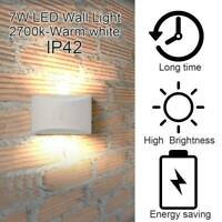 7W LED Wall Lights Up Down Indoor Modern Wall Sconce Lighting Lamp Warm Lights