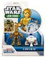 Playskool Heroes, Star Wars, Jedi Force Figures, R2-D2 and C-3PO