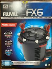 Fluval FX6  A219 Canister filter with media, hose, and all accessories COMPLETE