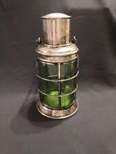 Vintage Silver Plated ASPREY Ship's Lantern Decanter / Cocktail Shaker.