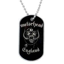 Motorhead - England Dog Tag Necklace