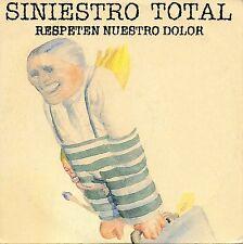 "SINIESTRO TOTAL ""RESPETEN NUESTRO DOLOR"" SPANISH PROMO CD SINGLE/ GERMAN COPPINI"