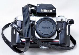 NEAR MINT CLASSIC NIKON  F2 WITH DP-1 FINDER