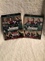 Avengers: Age of Ultron 4K Ultra HD Blu-ray Digital Copy With Slipcover New