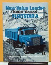 1969 International Harvester Fleetstar Truck Model F 1910 Sales Brochure