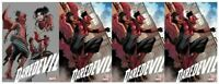 🔥 DAREDEVIL #25 (2020) 2ND PRINT ELEKTRA AS DAREDEVIL 1:25 VARIANT & 3 REGULAR
