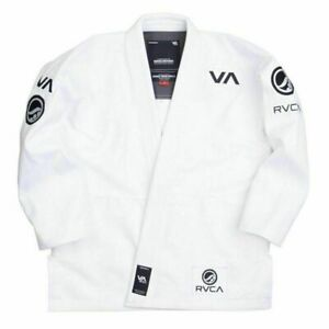 NEW Shoyoroll RVCA Brazilian Jiu Jitsu GI BJJ All Size available White and Black