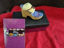 """Just The Right Shoe """"Cork Wedge� #25093 By Raine 1999"""