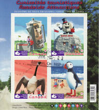 Canada 2010 Roadside Attractions Souvenir Sheet Used