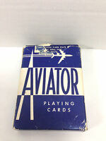Vintage Collectible  Aviator Playing Cards