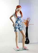 "Shop Display GIRL ""KID"" Teenager Mannequin Dressmaker LifeLike real Kids Manikin"