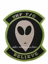 US Navy UHF F/O UFO Fleet Communications Believe Space Black Ops Patch New