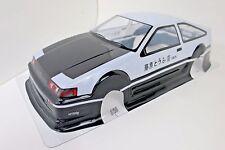 Toyota Trueno AE86 Corolla Pre-Painted Body / Wing 1/10th Scale HPI Kyohso Shell