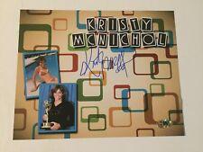 Kristy McNichol Autographed Signed 8x10 Photo - MAB Hologram