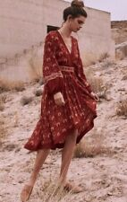 NWT Spell and The Gypsy Collective Jewel Soiree Dress - Copper - Sz XS