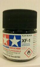 Tamiya acrylic paint XF-1 Black 10ml Mini