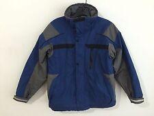 Columbia Ski Snow Board Winter Coat Jacket Blue & Gray Size 10/12