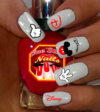 Disney Mickey Mouse Water-slide Nails Decals Set of 62 DM002-62