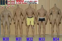 PHICEN TBLeague 1/6 Steel Skeleton Male Muscular Seamless Figure Body ❶U.S.A.❶