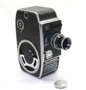 BOLEX L8 8mm Filmkamera mit Kern-Paillard Yvar 2.8/12.5mm AR