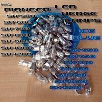 3 BLUE 8V LED WEDGE LAMP SX580 SX680 SX780 SX750 SX3700 3800 3900-SX820 Pioneer