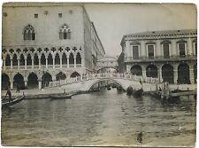 Venice Venezia Italie Italia Tirage vintage WW1 Guerre