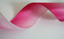 Pink Ombre Wired Ribbon,  Bows, Valentines, Decorative, Crafts