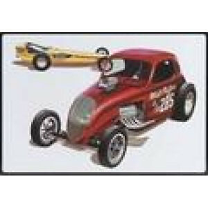 AMT 627 1/25 Double Dragster 2 model kits in special new in lunch tin