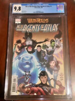 War Of Realms New Agents Of Atlas #1 CGC 9.8 Cover A 1st Print
