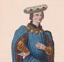 Portrait de Jean de Montagu Montaigu Vidame de Laon Seigneur de Saclas