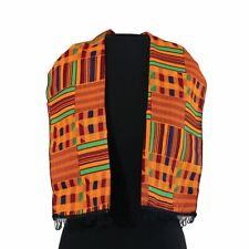 4b10a1cca85 African Kente cloth Scarf Head Tie Wrap traditional scarves dashiki  1 ( Orange)