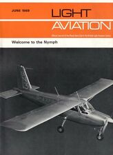 LIGHT AVIATION MAGAZINE 1969 JUN THE GREAT RACE, NYMPH, PPL I/R AT HOME