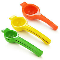 Metal Lemon Orange Citrus Lime Squeezer Hand Press Juicer Maker Tool UK FO