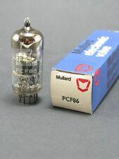 1 tubo electrónica MULLARD PCF86/ vintage tubo de vacío amplifidor/NOS