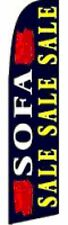 SOFA SALE SWOOPER FLAG WITH 6 METRE TELESCOPIC FLAG POLE INCLUDED
