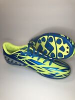 Lotto Forza Jr. Soccer Cleats Youth Size 6 Blue Green